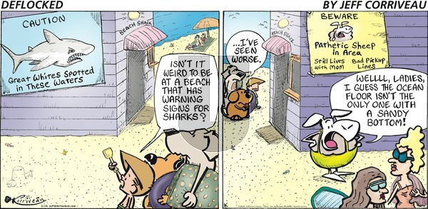 DeFlocked on Sunday February 16, 2020 Comic Strip