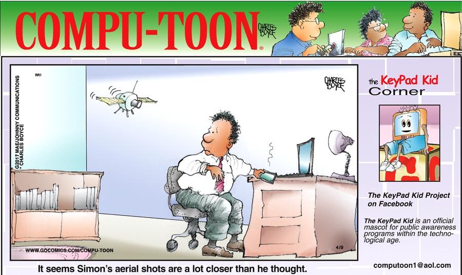 Compu-toon Comic Strip for April 09, 2017