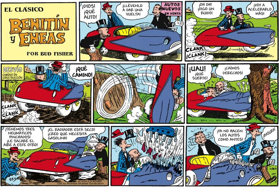 Benitin y Eneas Comic Strip for September 26, 2021