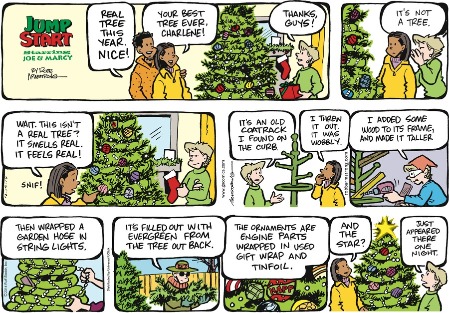 JumpStart Comic Strip for December 14, 2014