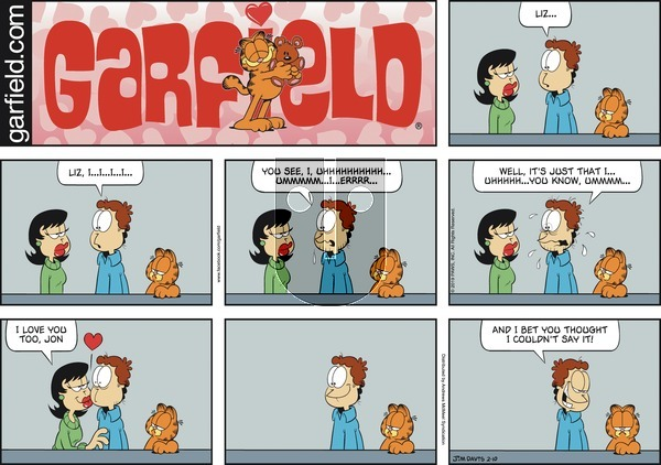 Garfield on Sunday February 10, 2019 Comic Strip