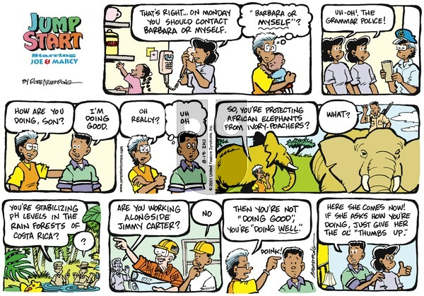 JumpStart - Sunday August 19, 2001 Comic Strip