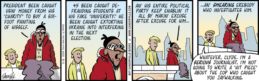 Candorville Comic Strip for November 19, 2019
