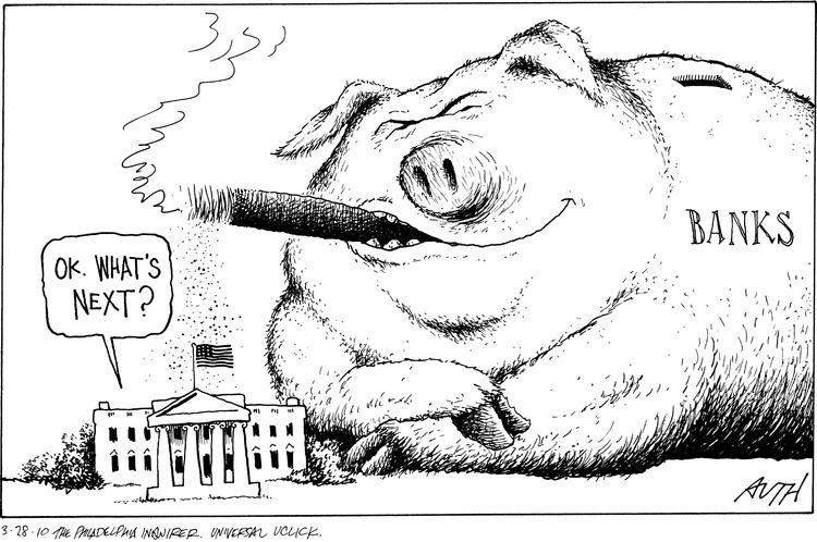 Tony Auth for Mar 28, 2010 Comic Strip