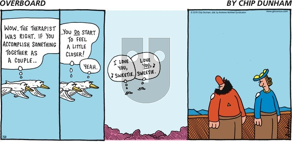 Overboard on Sunday July 21, 2019 Comic Strip