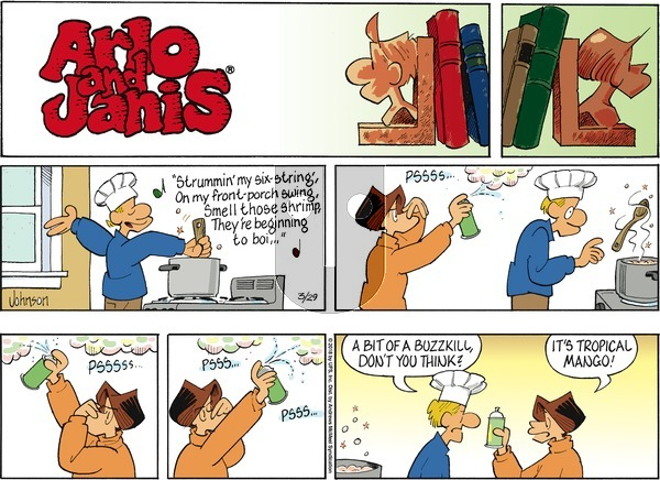 Arlo and Janis on Sunday March 29, 2020 Comic Strip