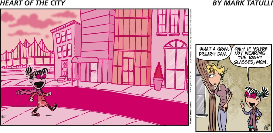 Heart of the City Comic Strip for December 29, 2019