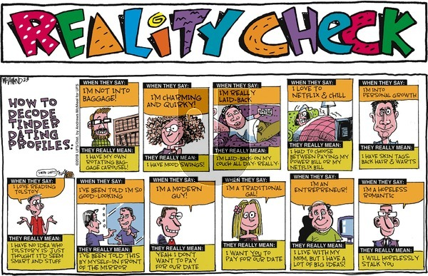 Reality Check on Sunday February 3, 2019 Comic Strip
