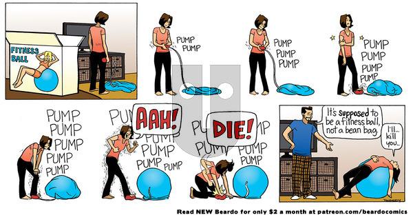 Beardo - Friday June 11, 2021 Comic Strip