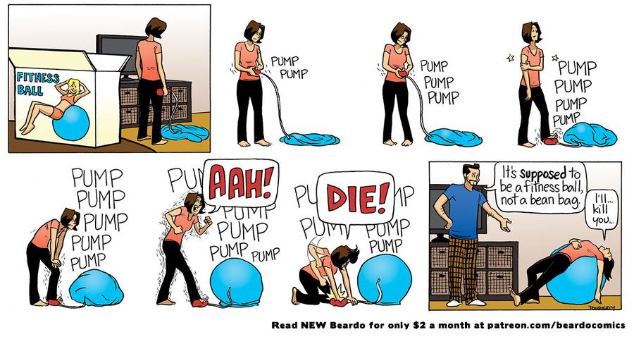 Beardo Comic Strip for June 11, 2021