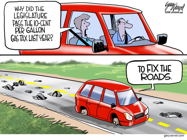 Gary Varvel by Gary Varvel for April 09, 2019