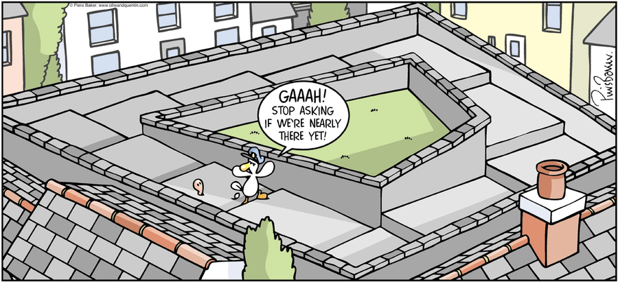 Ollie and Quentin Comic Strip for May 01, 2016