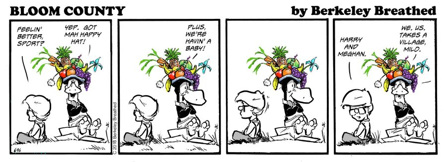 Bloom County 2018 by Berkeley Breathed for October 25, 2018