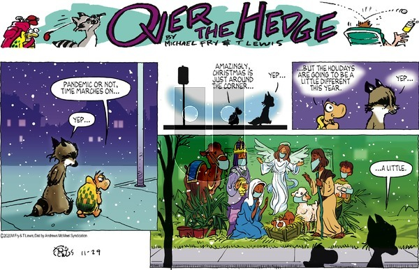 Over the Hedge - Sunday November 29, 2020 Comic Strip