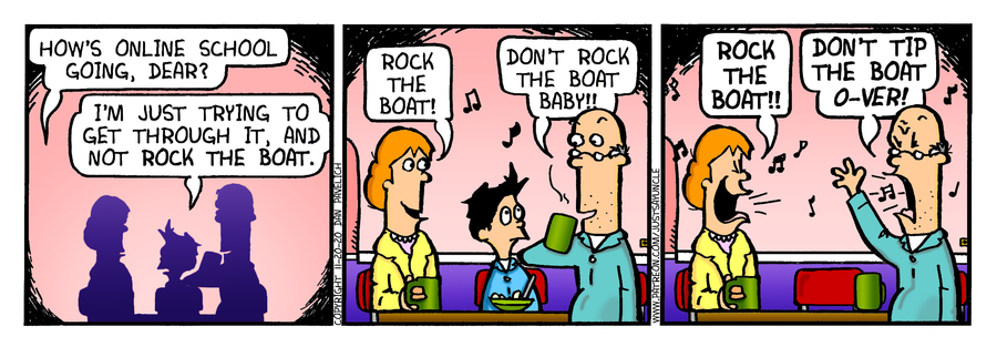 Just Say Uncle Comic Strip for November 20, 2020