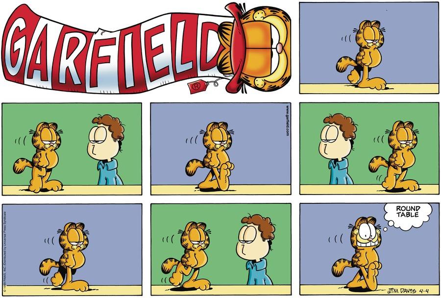 Garfield Comic Strip for April 04, 1999