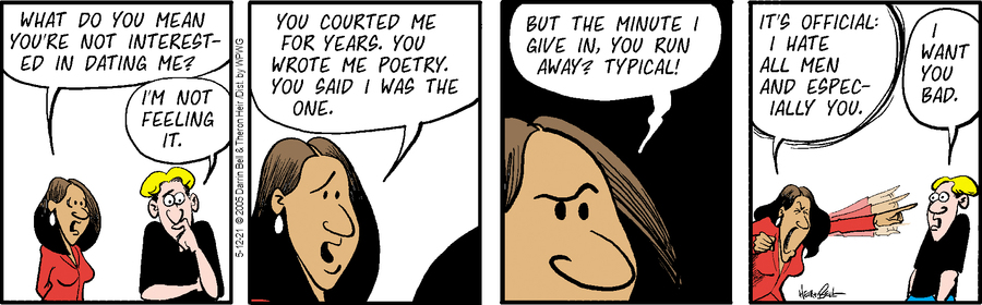 Rudy Park Comic Strip for May 12, 2021