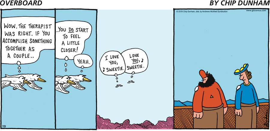 Overboard Comic Strip for July 21, 2019