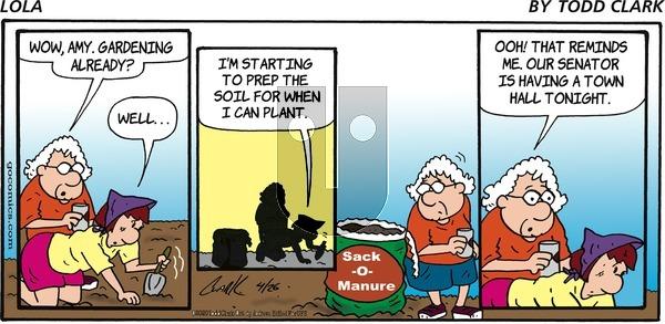 Lola on Sunday April 26, 2020 Comic Strip