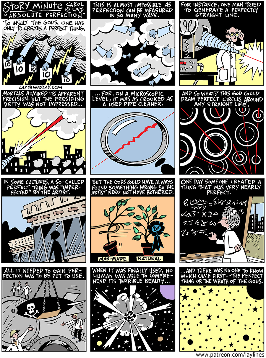 Lay Lines Comic Strip for June 06, 2016