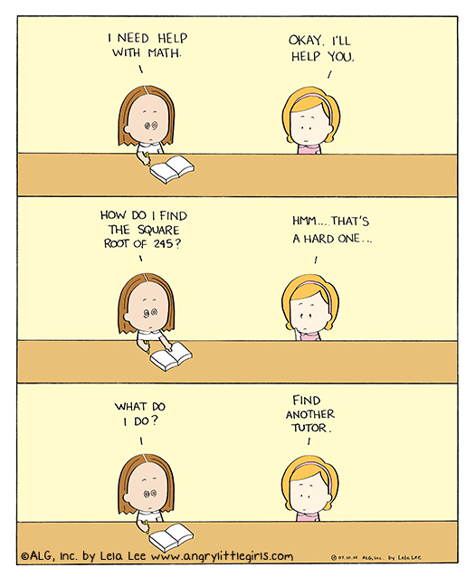 Angry Little Girls Comic Strip for July 19, 2013