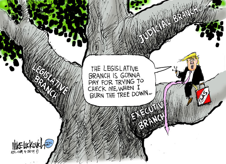 Mike Luckovich by Mike Luckovich for April 28, 2019