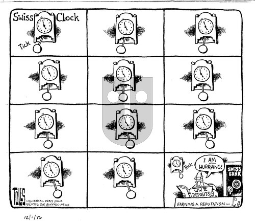 Tom Toles - Sunday December 1, 1996 Comic Strip