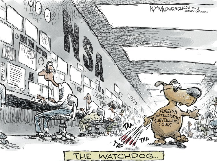Nick Anderson for Aug 18, 2013 Comic Strip