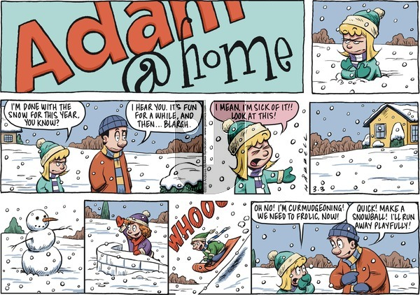 Adam@Home on Sunday March 3, 2019 Comic Strip