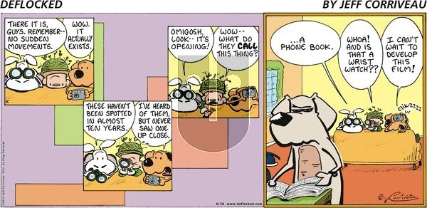 DeFlocked on Sunday April 20, 2014 Comic Strip