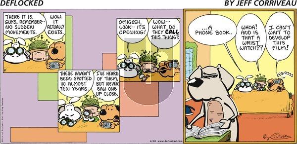 DeFlocked on Sunday April 20, 2014 Comic Strip