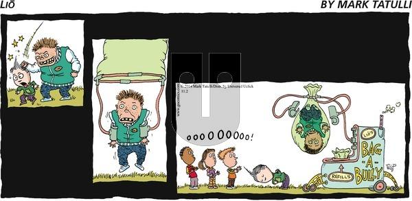 Lio - Sunday November 2, 2014 Comic Strip