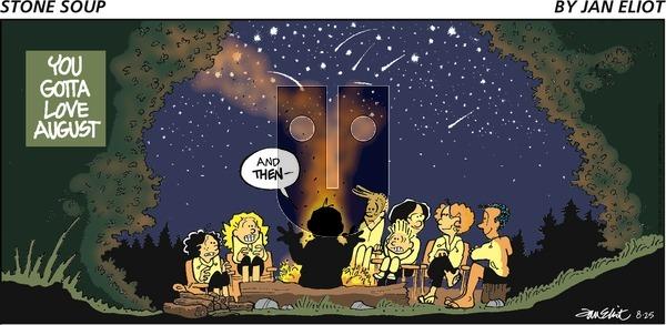 Stone Soup - Sunday August 25, 2019 Comic Strip