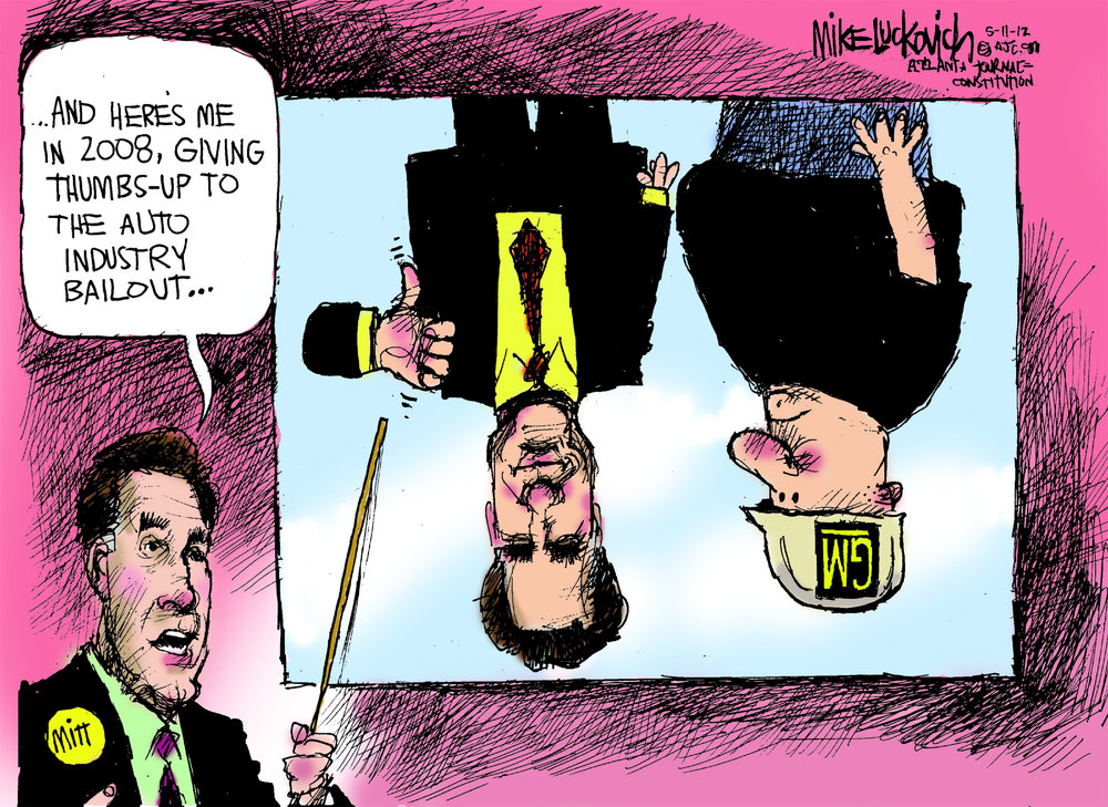 Mike Luckovich Comic Strip for May 11, 2012