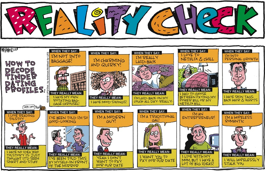 Reality Check Comic Strip for February 03, 2019