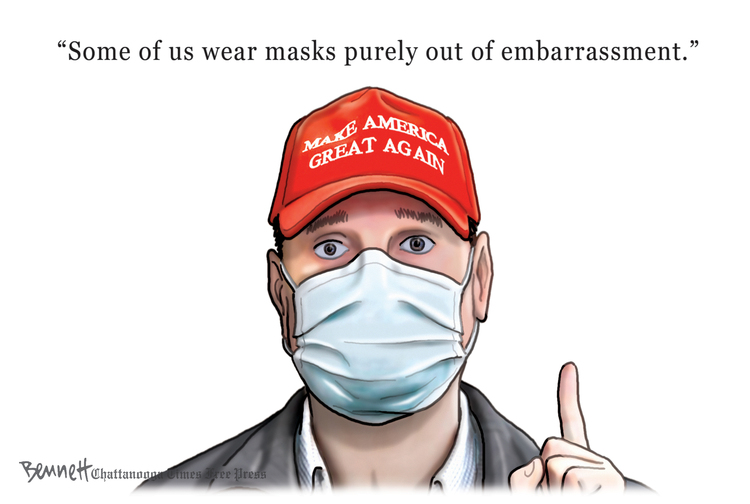 Clay Bennett by Clay Bennett on Wed, 13 May 2020
