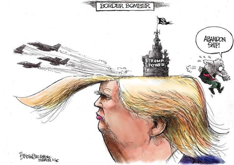 Steve Benson Comic Strip for June 18, 2015