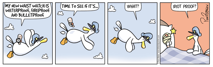 Ollie and Quentin Comic Strip for August 15, 2019