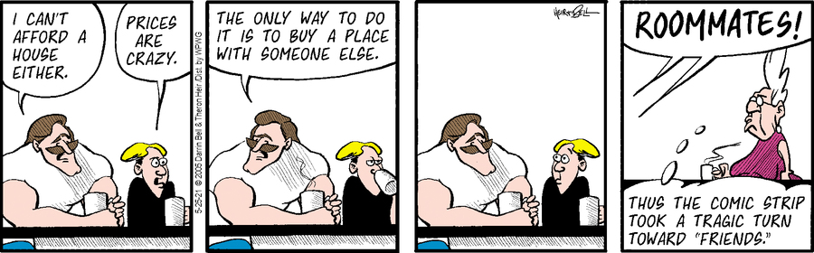 Rudy Park Comic Strip for May 25, 2021