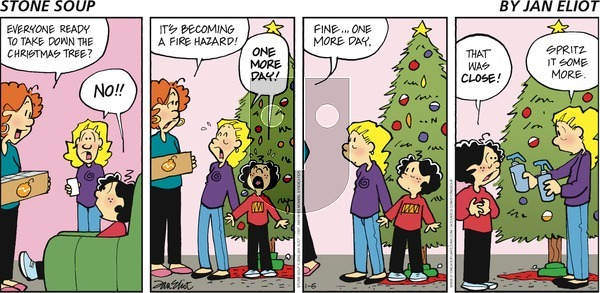 Stone Soup - Sunday January 5, 2020 Comic Strip