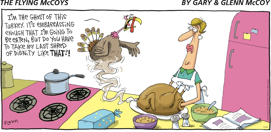 The Flying McCoys Comic Strip for November 18, 2012