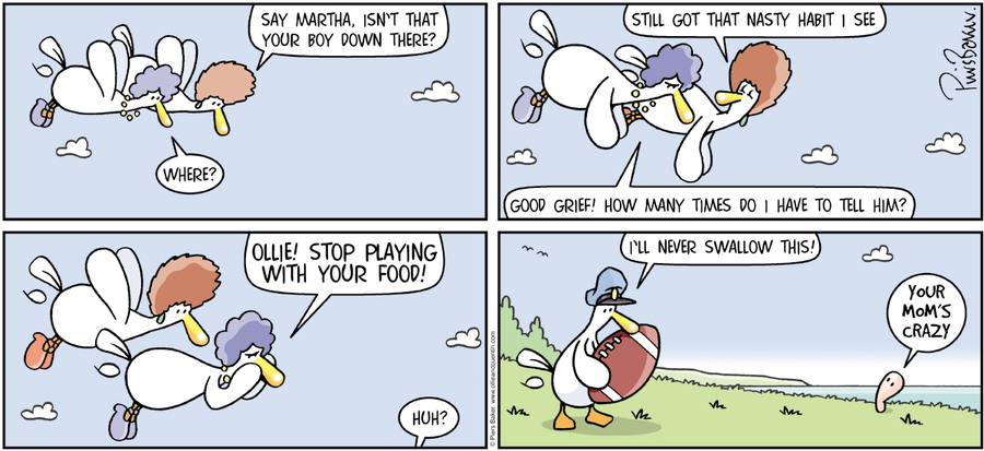 Ollie and Quentin for Sep 24, 2017 Comic Strip