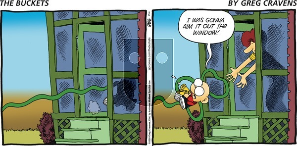 The Buckets - Sunday April 5, 2020 Comic Strip
