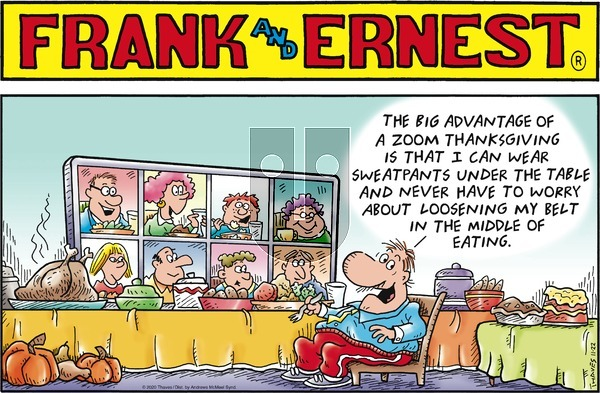 Frank and Ernest on Sunday November 22, 2020 Comic Strip