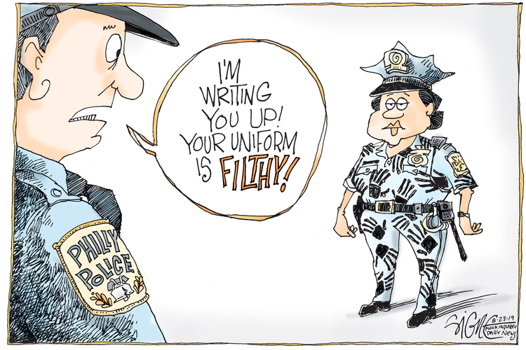 Signe Wilkinson by Signe Wilkinson for August 27, 2019