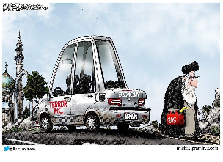 Michael Ramirez for Aug 11, 2018 Comic Strip