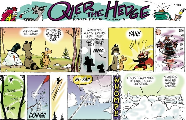 Over the Hedge on Sunday February 7, 2021 Comic Strip