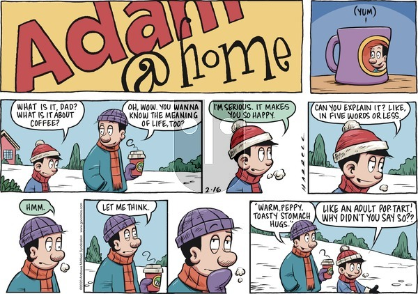 Adam@Home on Sunday February 16, 2020 Comic Strip