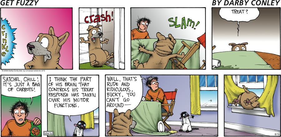 Get Fuzzy Comic Strip for August 18, 2013