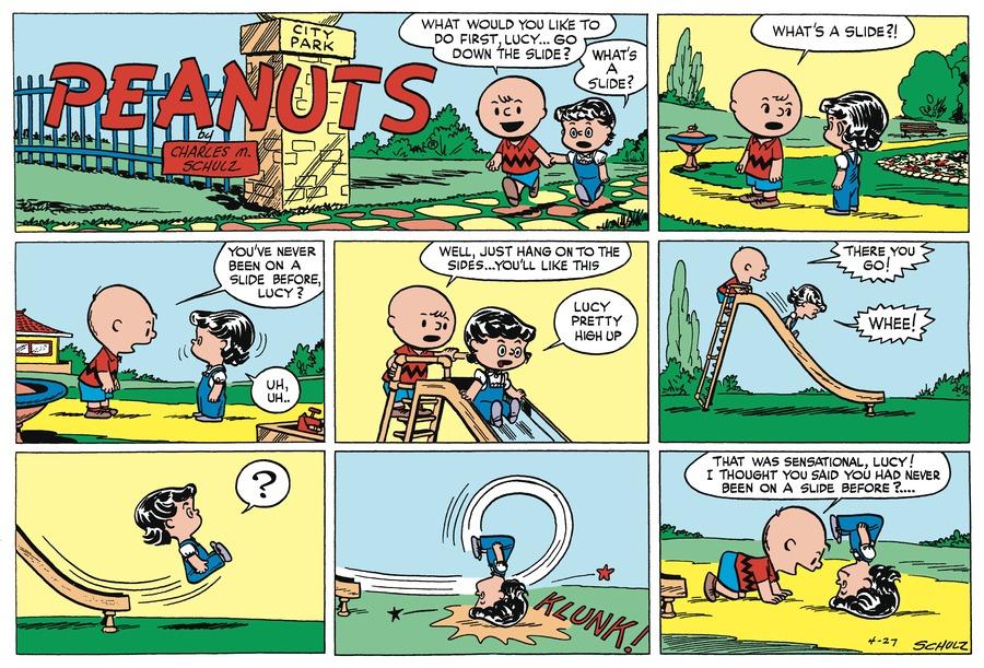 Peanuts Begins Comic Strip for July 31, 2016